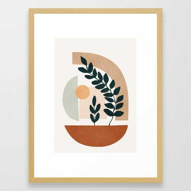 Soft Shapes III Framed Art Print - Society6