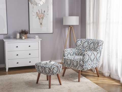 Rupp Armchair and Ottoman - Wayfair