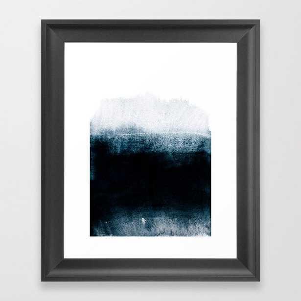 Into The Deep Framed Art Print by Iris Lehnhardt - Scoop Black - X-Small-10x12 - Society6