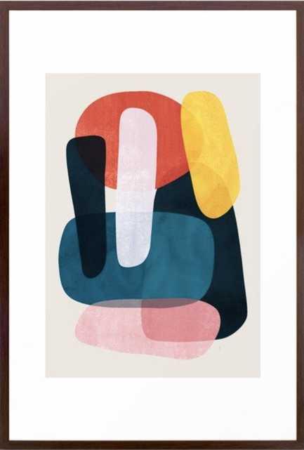 Mischka Framed Art Print 26 x 38 - Society6