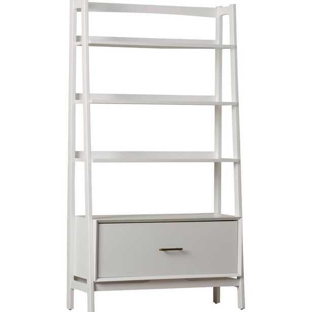 Dunkelberger Ladder Bookcase - White - Wayfair