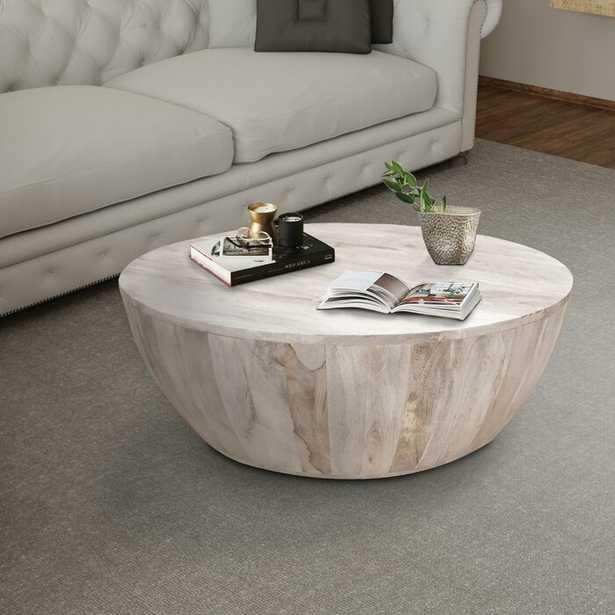 Rodrigues Mango Wood Coffee Table (IN STOCK SEPT 4) - Wayfair