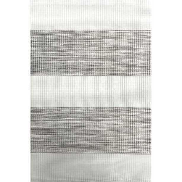 "Wood Look Zebra Shade Sheer Roller Shade 72""W x 96""L - Wayfair"