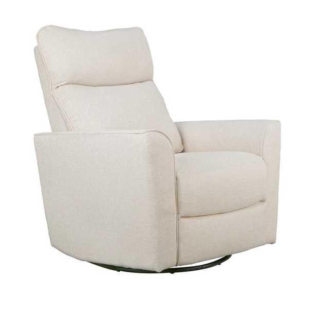 Soho Comfort Upholstered Swivel Glider Canvas - Wayfair