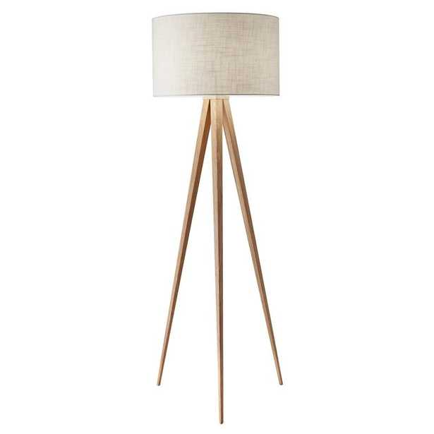 "Teterboro Modern 60.25"" Tripod Floor Lamp - Wayfair"