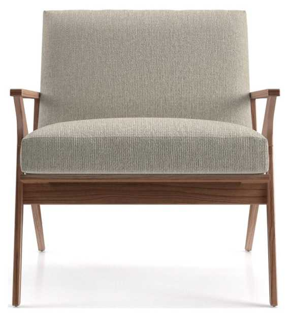 Cavett Wood Frame Chair - Crate and Barrel
