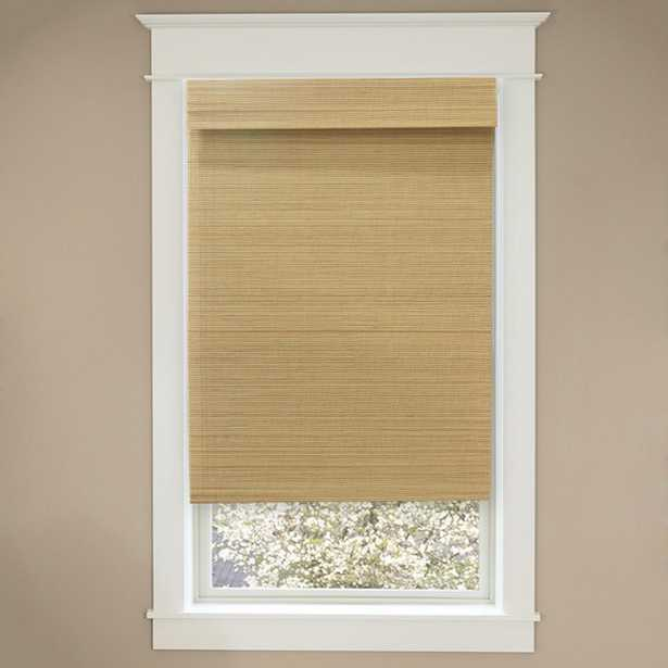 Cut-to-Size Natural Cordless Light-Filtering UV Protection Bamboo Shades 72 in. W x 48 in. L - Home Depot