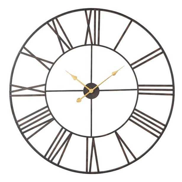 """Oversized Eisenhauer 36"""" Wall Clock - Wayfair"""