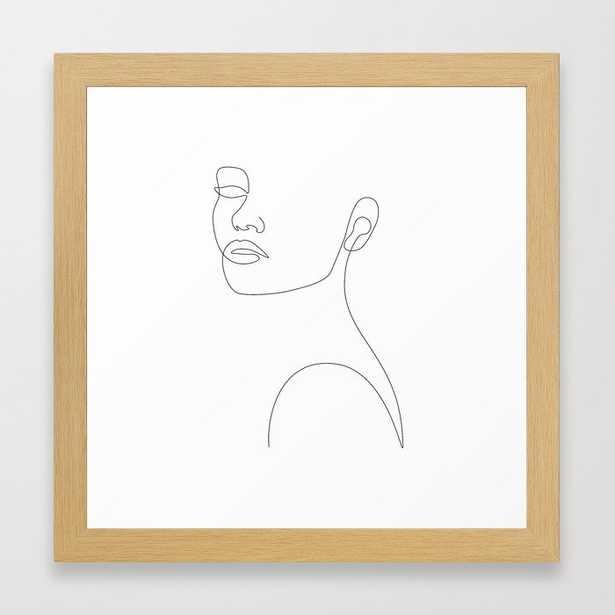 Girly Portrait Framed Art Print - Society6
