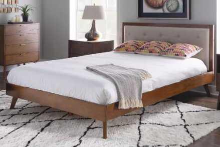 Dewsbury Queen Upholstered Platform Bed - Wayfair