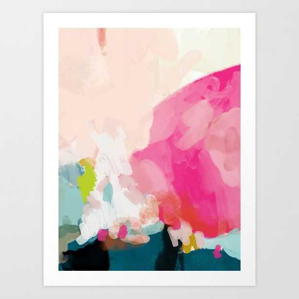 pink sky Art Print - Society6
