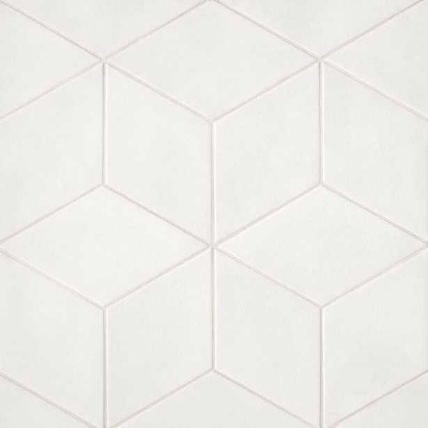 """Allora 7"""" x 13"""" Porcelain Field Tile - AllModern"""