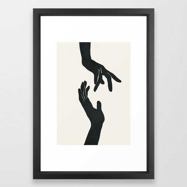 Abstract Hands Framed Art Print - Society6