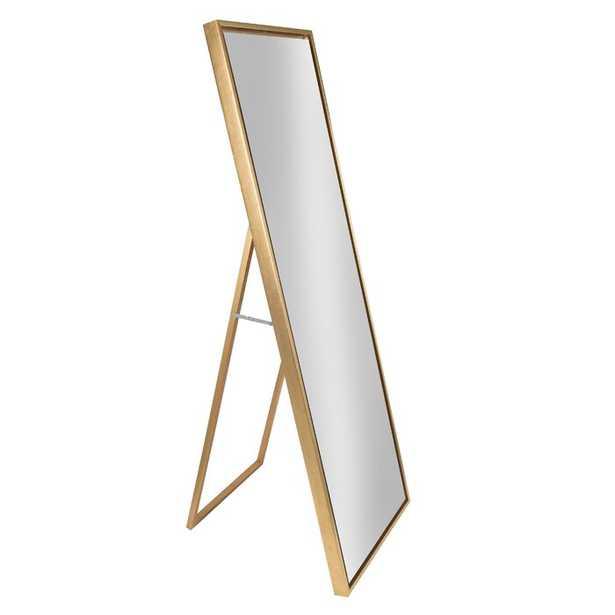 Loeffler Modern & Contemporary Beveled Free Standing Full Length Mirror - AllModern