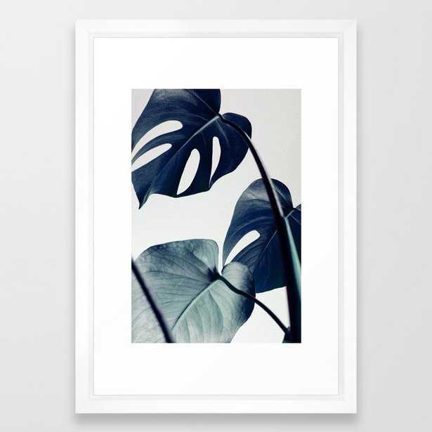 botanical vibes II Framed Art Print 15 x 21 - Society6
