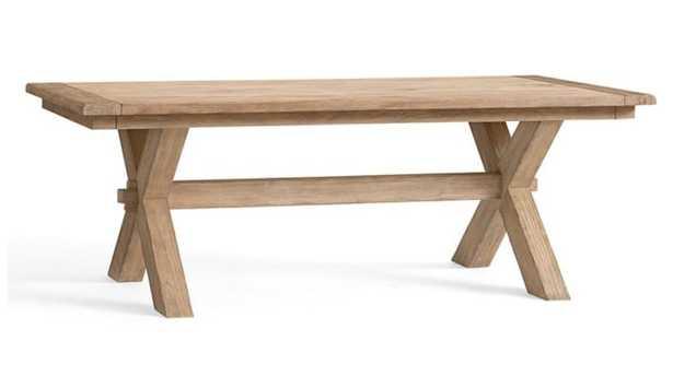 "Toscana Extending Dining Table, SEADRIFT, 88.5"" - 124.5"" L - Pottery Barn"