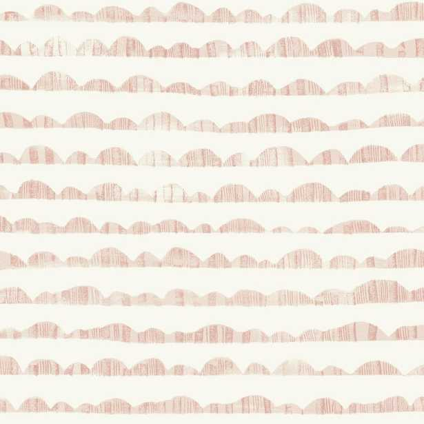Magnolia Home by Joanna Gaines Hill & Horizon Wallpaper, Pink - Home Depot