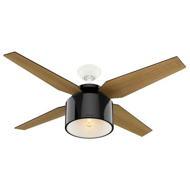 """52"""" Cranbrook 4-Blade Ceiling Fan with Remote Light Kit Included - Wayfair"""