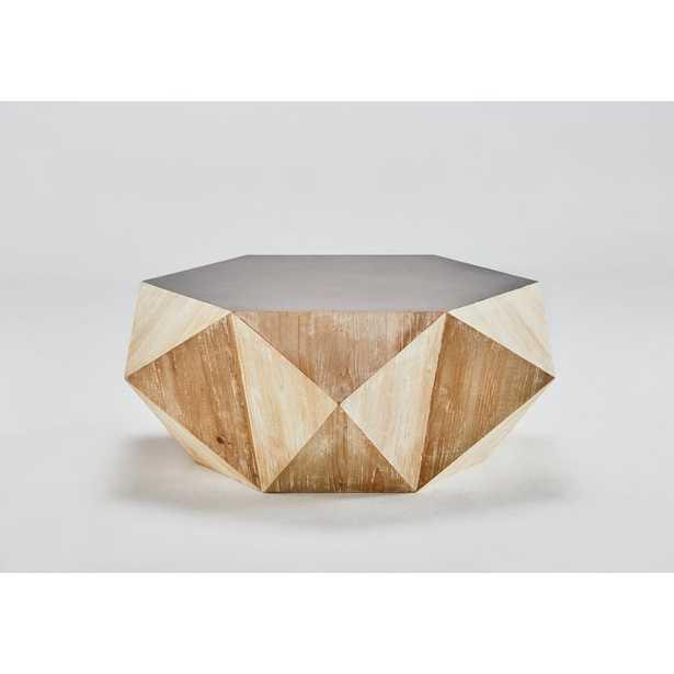 Raymundo Hexagon Coffee Table - Wayfair