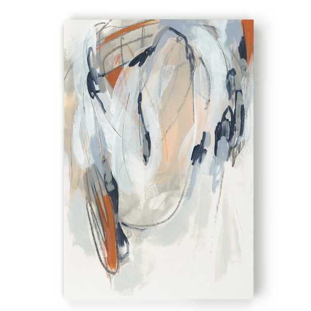 """'Obfuscation I' - Painting Print on Canvas_30"""" x 40"""" - Wayfair"""