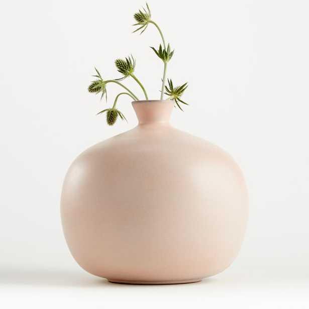 Mireya Blush Vase - Crate and Barrel