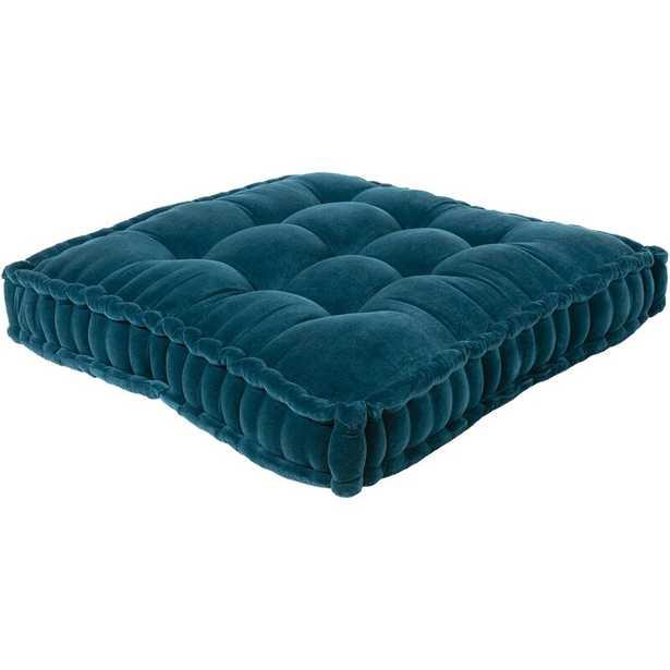 Lindley Border Cotton Floor Pillow - Wayfair