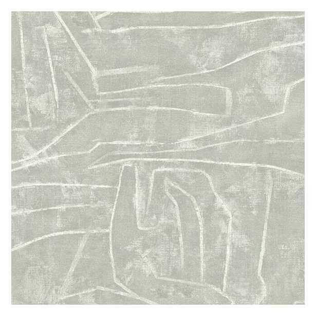 Urban Chalk Premium Peel and Stick Wallpaper - York Wallcoverings