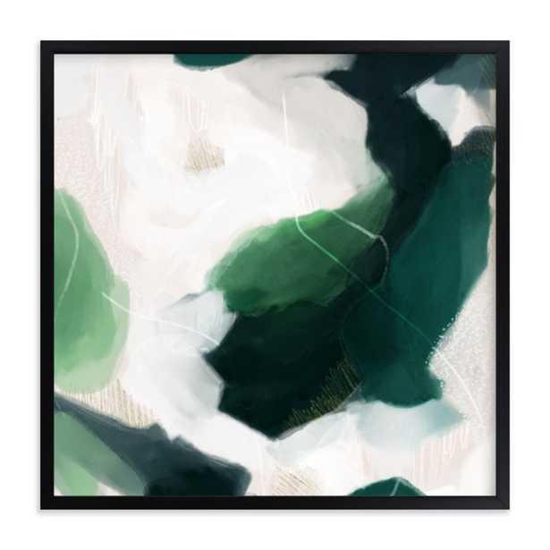 Oja framed art print, 16 x 16 - Minted