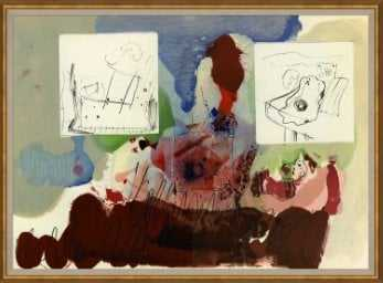 'HOMAGE IV' FRAMED GRAPHIC ART PRINT - Perigold