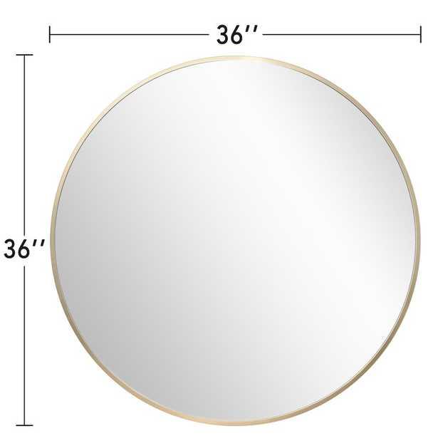 Archbald Modern and Contemporary Beveled Venetian Accent Mirror - Wayfair