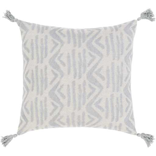 """Hadlee Dash Pillow Cover, 18""""x 18"""", Gray - Cove Goods"""