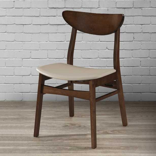 Capri Upholstered Solid Wood Side Chair (Set of 4) - Wayfair