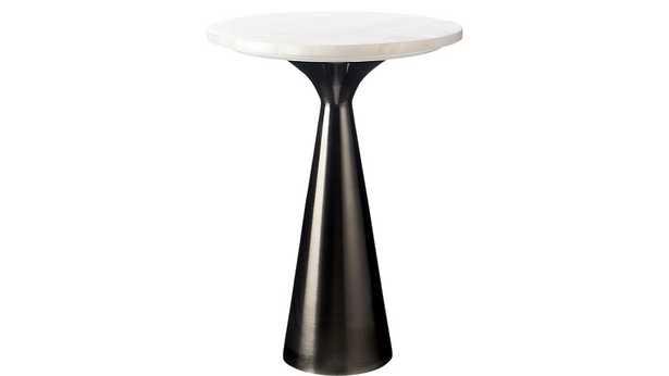 NINA ROSE QUARTZ SIDE TABLES - CB2