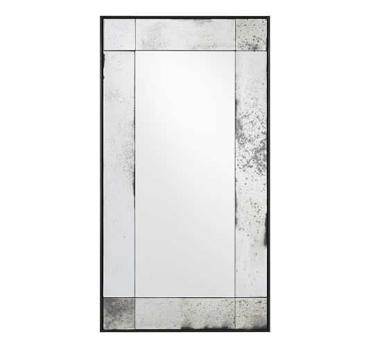 """Tribeca Antiqued Mirror - Small, 16"""" x 30"""" - Pottery Barn"""