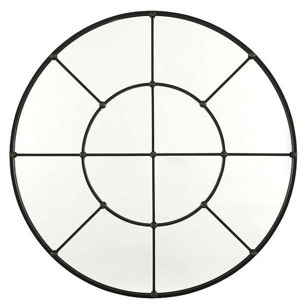 """Ballard Designs Grand Palais Round Mirror  36""""- Antique Bronze - Ballard Designs"""