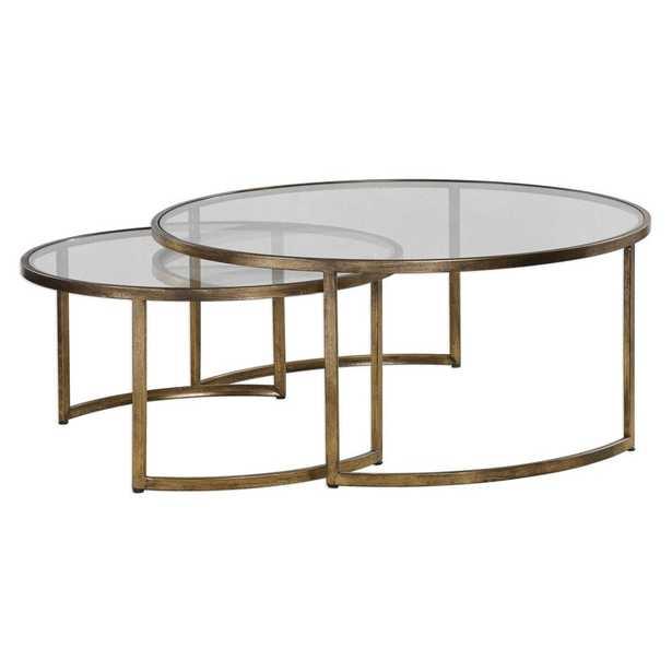 Rhea, Nesting Tables, S/2 - Hudsonhill Foundry