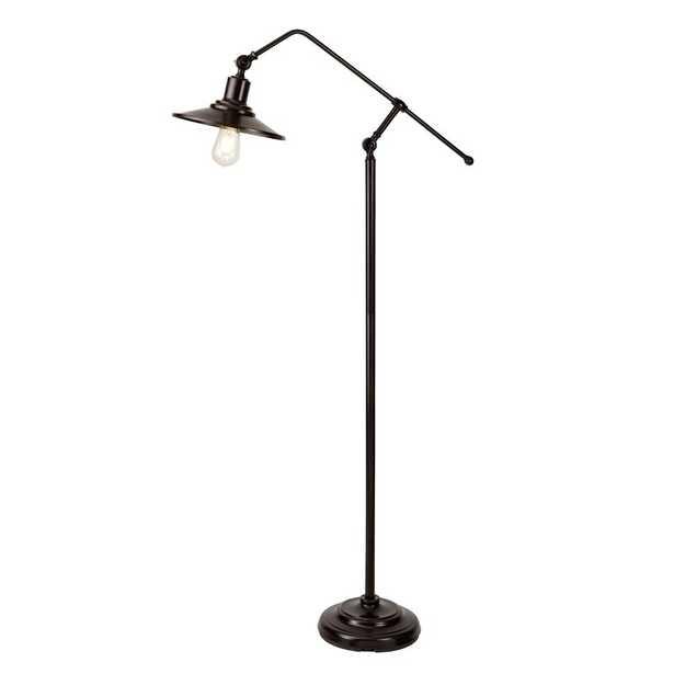"""Stevenson 61.02"""" Task Floor Lamp - Wayfair"""