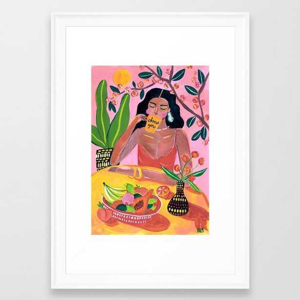 Choose you Framed Art Print - Society6