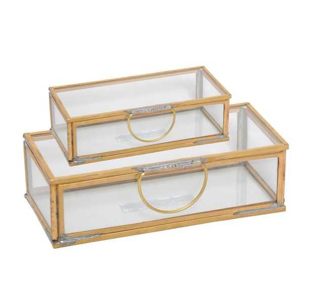Rectangular Decorative Box (set of 2) - Birch Lane
