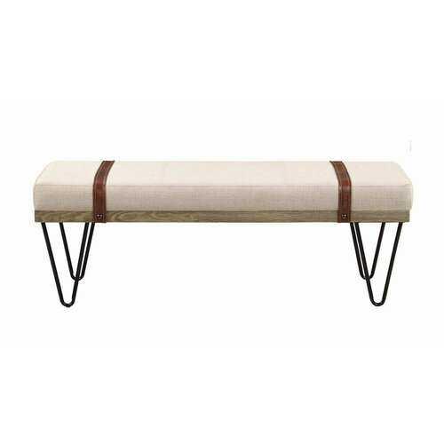 Pine Lawn Upholstered Bench - AllModern