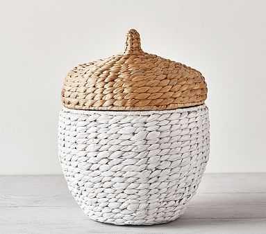 Shaped Critter Storage, Acorn Storage - Pottery Barn Kids