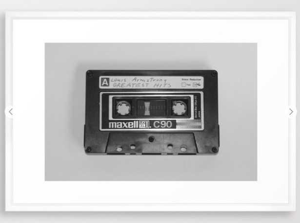 687 Reviews Tape Framed Art Print - Society6