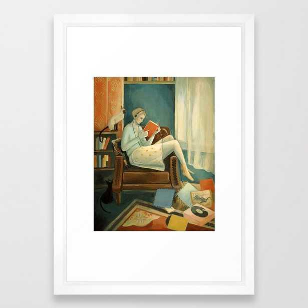 Eleanor's Room Framed Art Print - Society6