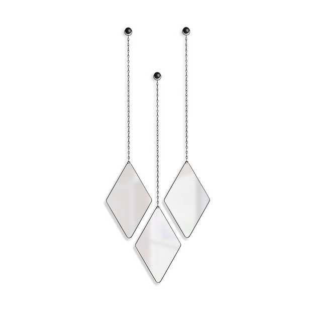 3 Piece Modern and Contemporary Accent Mirror Set - Wayfair