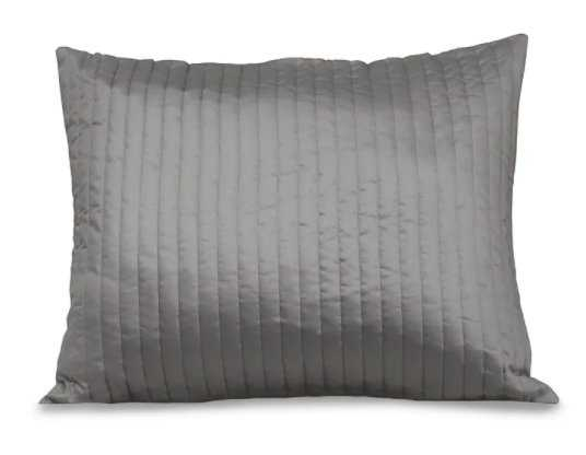 Signoria Firenze Siena Channel Quilted Sham Size: Queen, Color: Silver Moon - Perigold