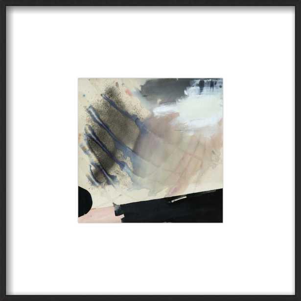 "Alms  BY KARINA BANIA- 8x8""-   Matte Black Metal Frame- With Matte - Artfully Walls"