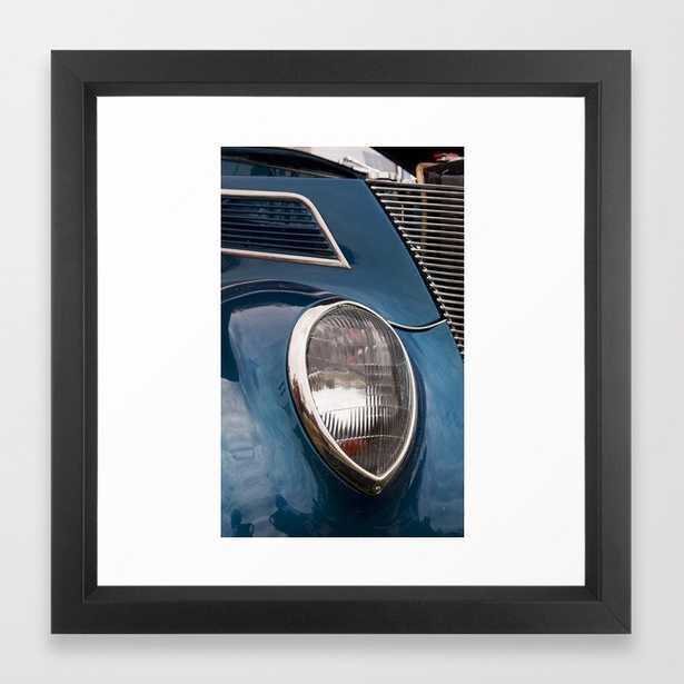 "Vintage Car 7 Framed Art Print 22"" x 22"" vector black frame - Society6"