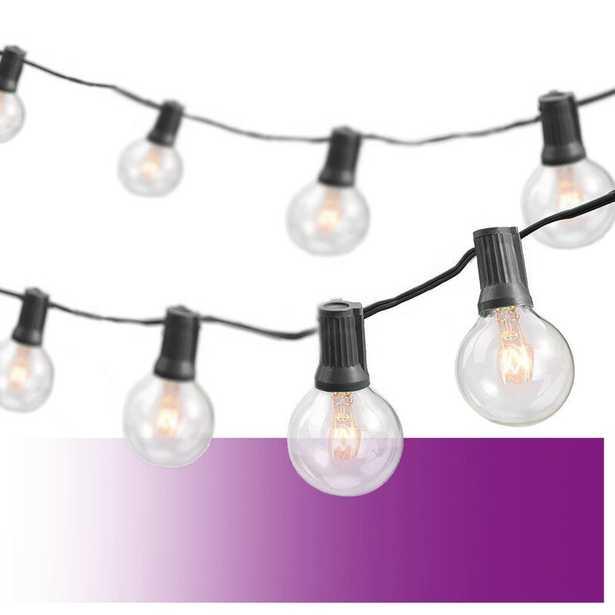 Wayfair Basics 25' Outdoor Plug-in 25 - Bulb Globe String Light - Wayfair