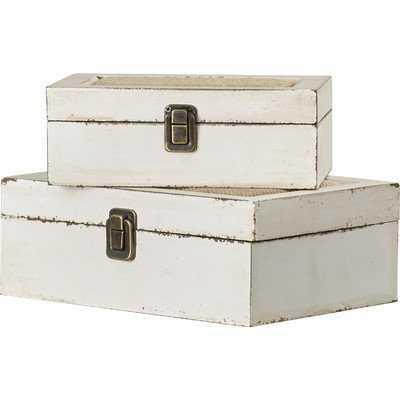 Kelia 2 Piece Decorative Box Set - Wayfair