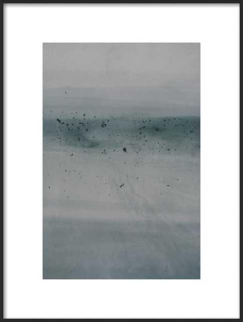 Forecast no. 49 - 14x20 - matte black metal frame - Artfully Walls